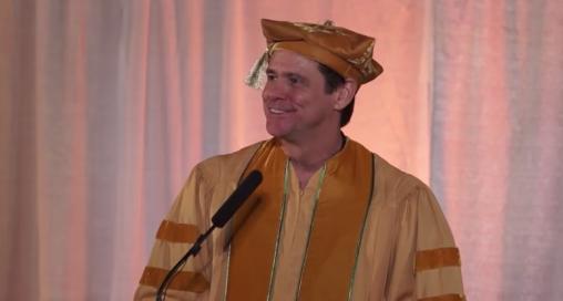 Jim Carrey maharisi university