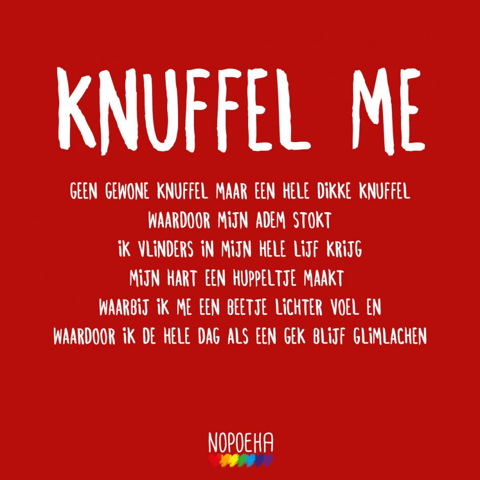 knuffel me