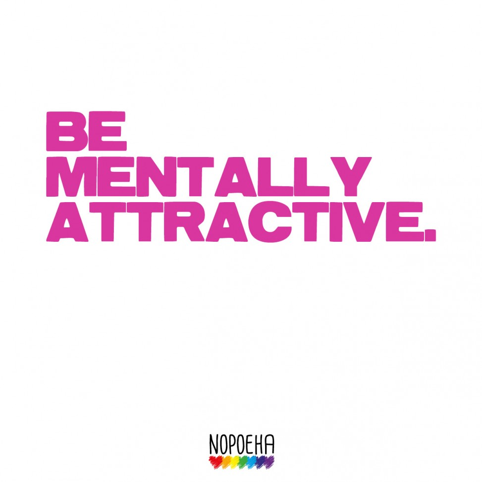 be mentally attractive